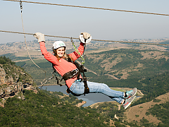 Lake Eland Game Reserve - Zip Line