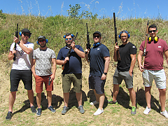 False Bay Firearm Training Academy - Clay Pigeon Shooting