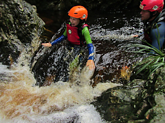 Canyoning The Crags, Plettenberg Bay