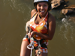 Swazi Trails - Abseiling