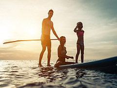 Stand up paddle Surfing (SUP)
