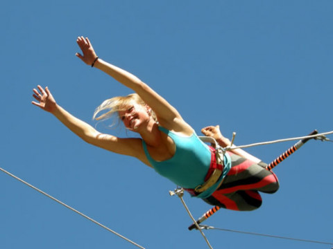All Out Adventures Flying Trapeze