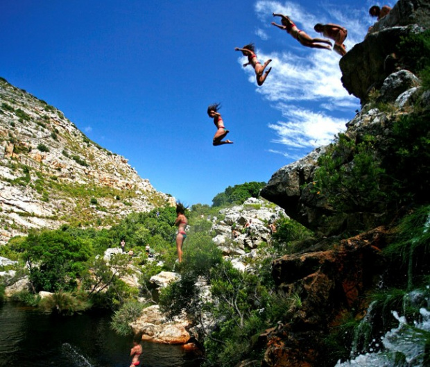 Canyoning In Cape Town