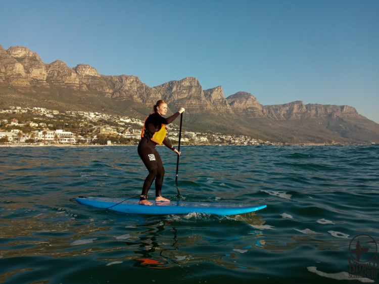 Stoked School of Surf offers guided surf camps in Camps Bay, Cape Town