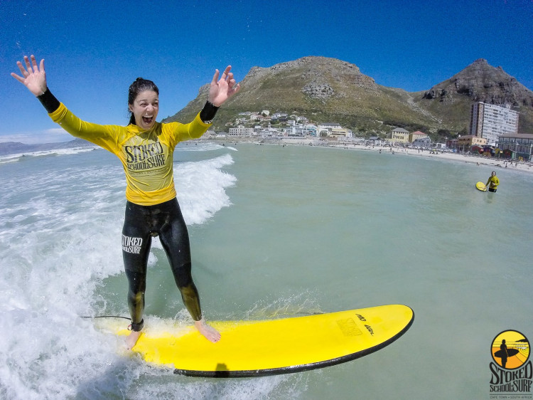 Stoked School of Surf offers guided surfing in Muizenberg, Cape Town
