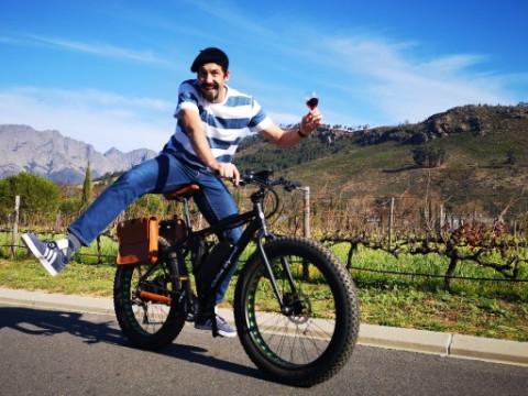 Vinebikes E-Bike Tours Stellenbosch