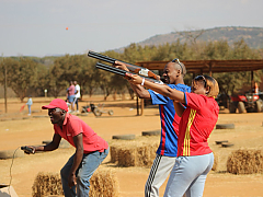 Saddle Creek Adventures - Laser Clay Pigeon Shooting