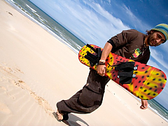 Jeffreys Bay Adventures - Sandboarding