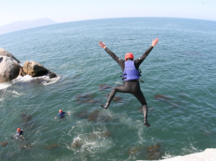 Gravity Adventures offers Coasteering in Cape Town, South Africa