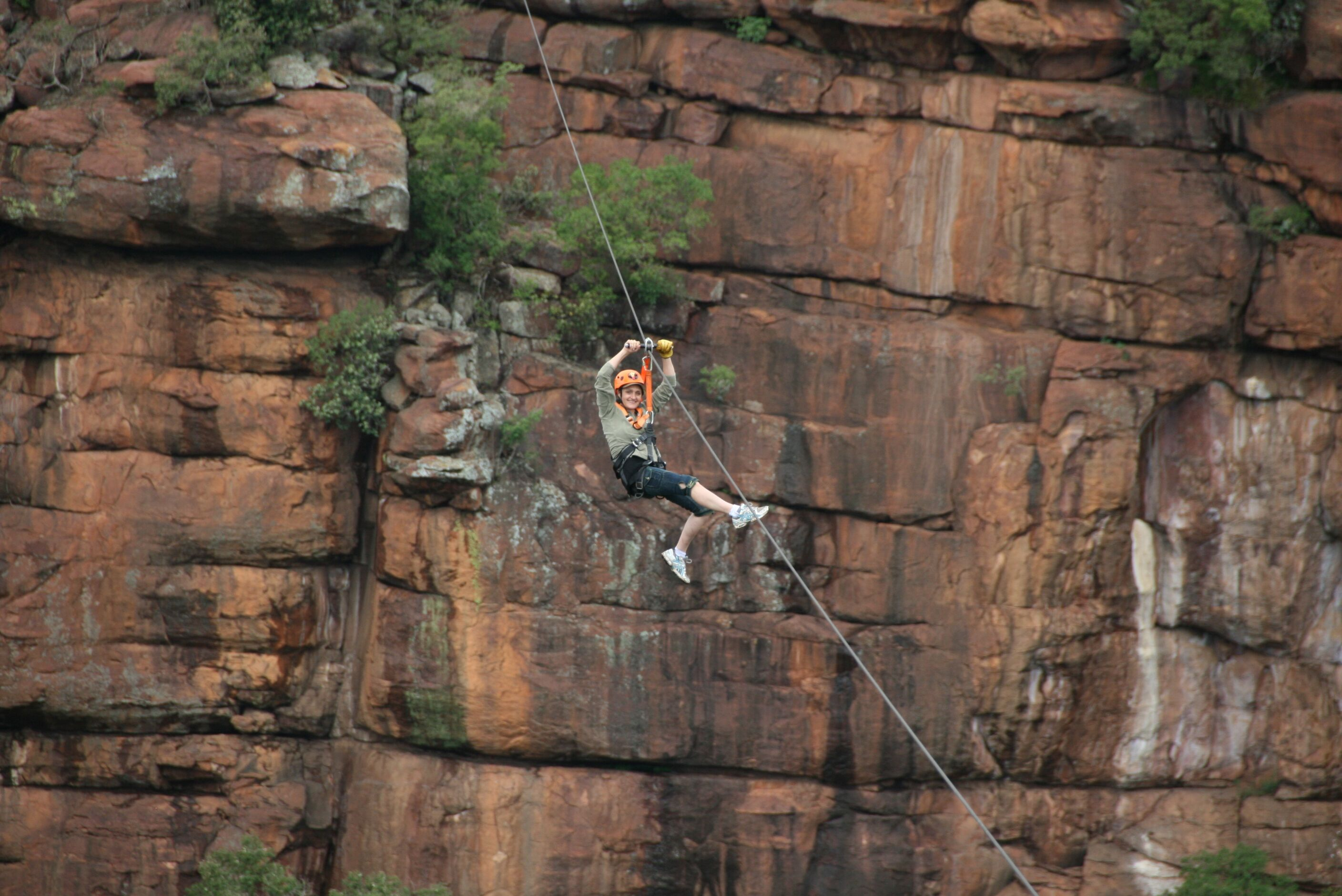 Adventure Zone Cullinan - Abseiling