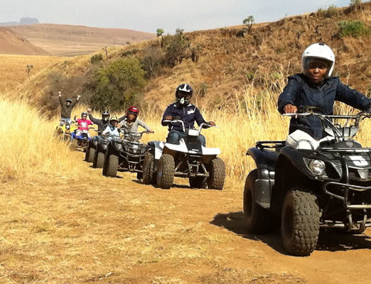 All Out Adventures - Quad Biking