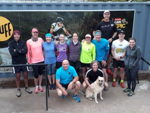 Morning run with Run Cape Town