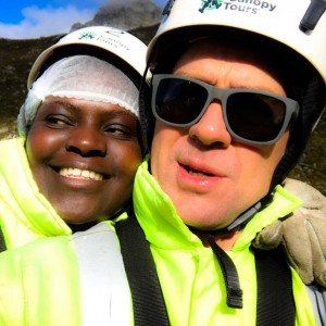 Darron and Fikile - Elgin Canopy Tour