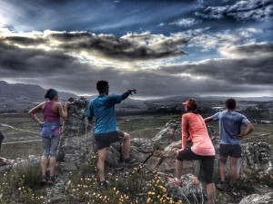 Guided running in Elgin - SA adventure summit