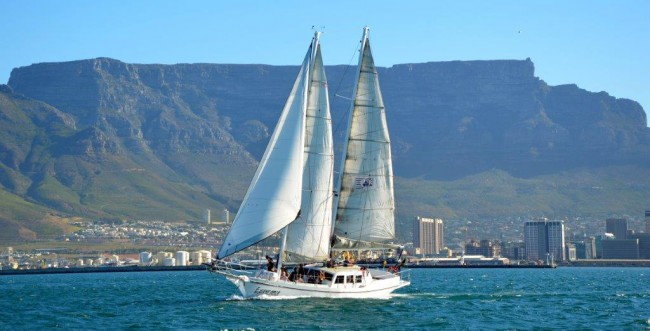 Sunset Cruise in Cape Town