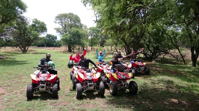 Adventure Zone Cullinan - Quad Biking