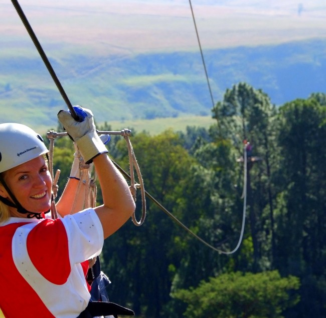 All Out Adventures - Aerial Cable Tours
