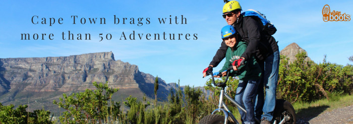 Cape Town brags with more than 50 Adventures