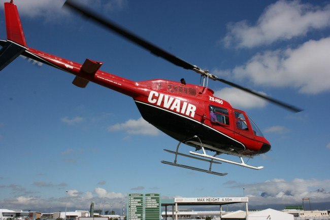 Civair Helicopters and Aeroplanes - Cape Town