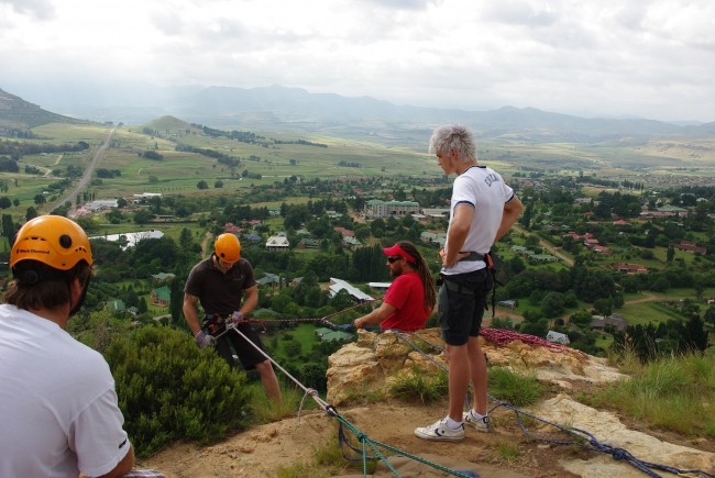 Clarens Xtreme - Abseiling