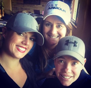 In our Under Armour caps