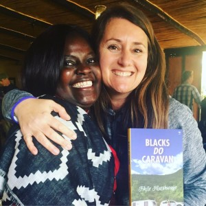 Esna and Fikile - author of Blacks Do Caravan