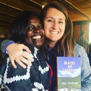 Esna and Fikile - author of Blacks Do Caravan