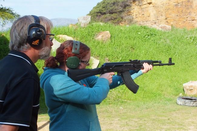 False Bay Firearm Training Academy - Shooting
