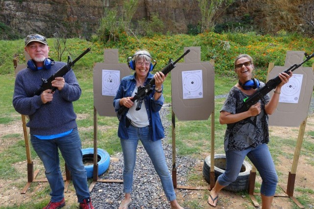 False Bay Firearm Training Academy - Target Shooting