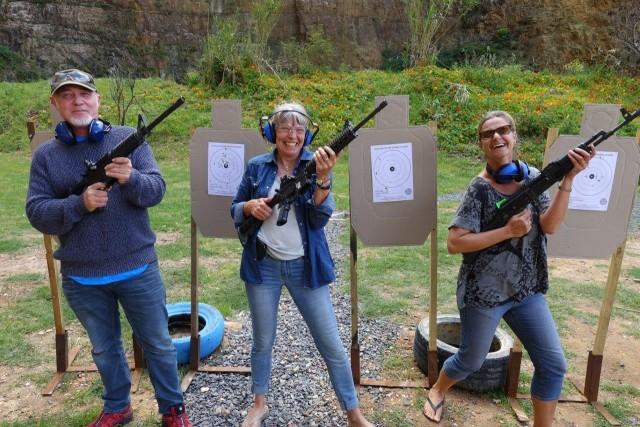 False Bay Firearm Training Academy - Target Shooting