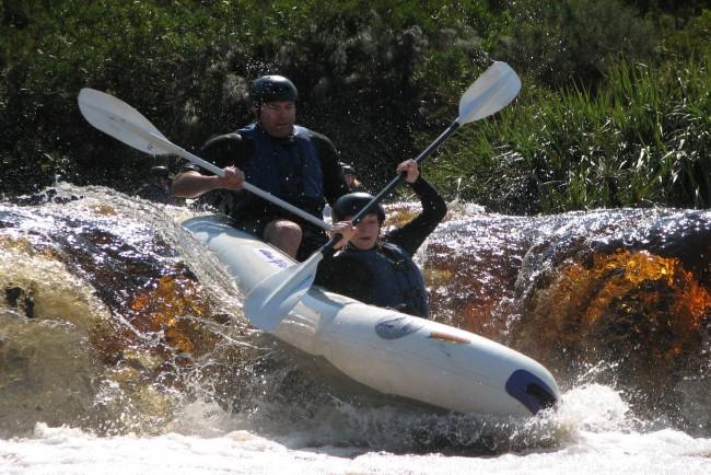 Gravity Adventures - Breede River Rafting