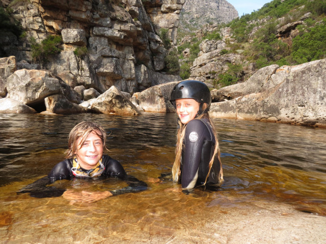 Kloofing Trips in Bain's Kloof, Cape Town