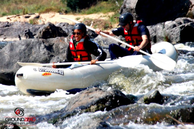 Ground Zero Adventures - River Rafting