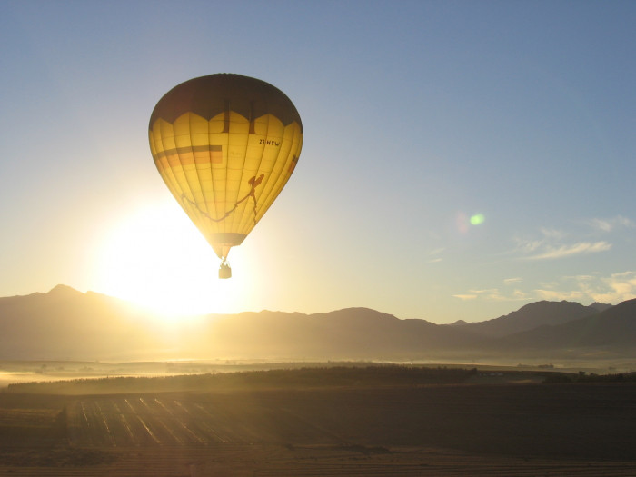 Hot-Air Ballooning - The Best Cape Town Adventures