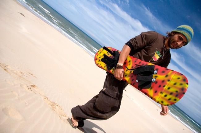 Jeffreys Bay Adventures - Sandboarding