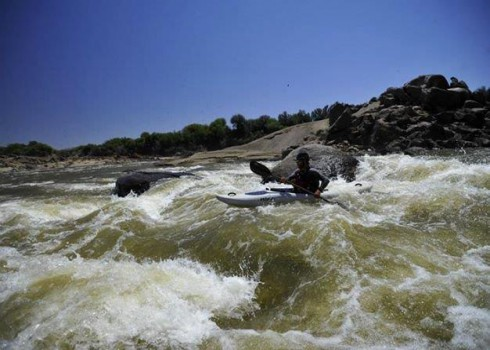 White Water Kayak School Orange River
