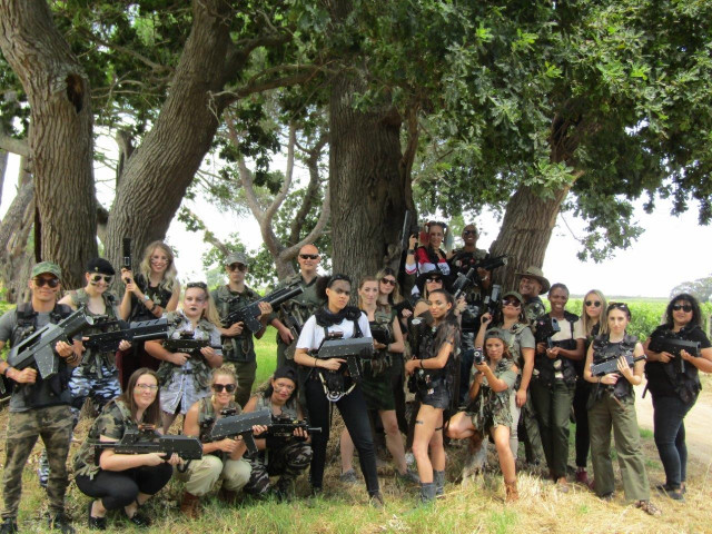 Laser Tag in Cape Town, South Africa