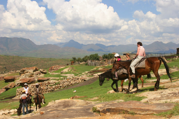 Lesotho Pony Trekking - The Best Adventure Holidays in South Africa