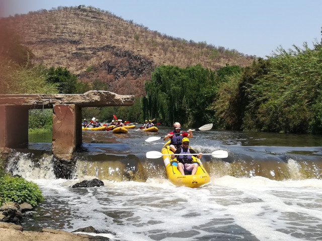 Gauteng White Water Rafting - Family Adventures in South Africa