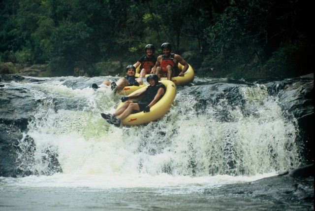 Tubing in the Magoebaskloof, South Africa