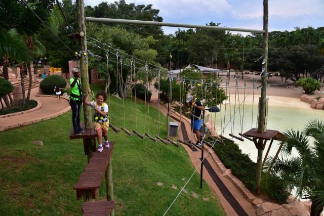 Chimp & Zee Rope Adventure Park - Sun City