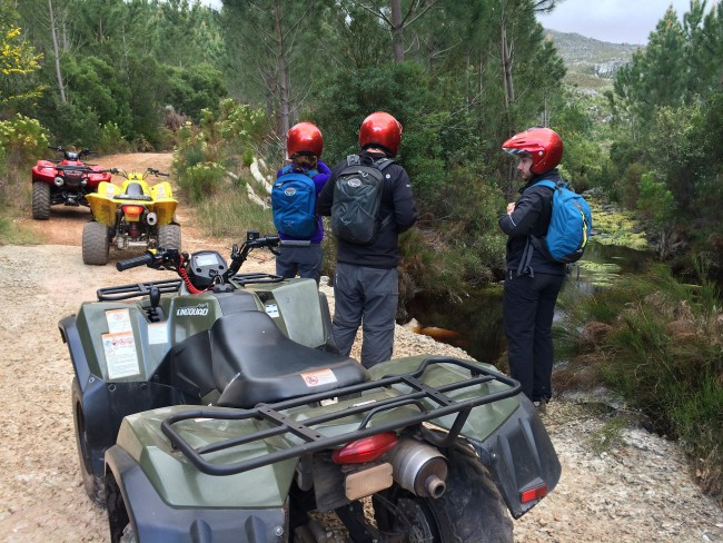 Nature Discovery Tours - Quad Biking