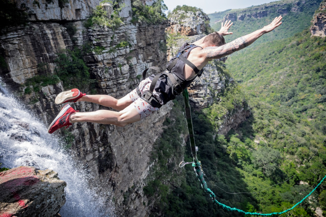 Oribi Gorge Swing - Family Adventures in South Africa
