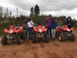 Quad Biking in Elgin with SA Forest Adventures