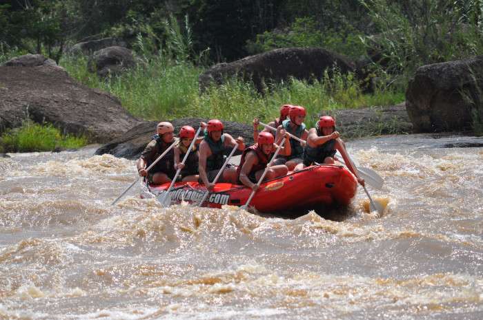 River Rafting on the Umzimkulu River - The Best White Water Rafting Rivers, South Africa