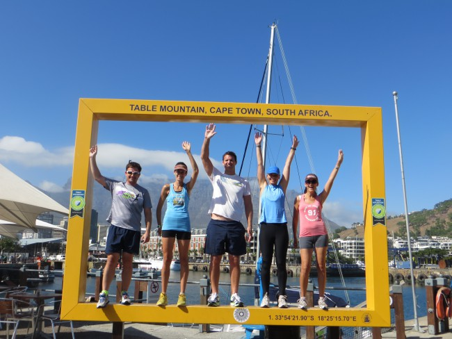 Guided running tours in Cape Town