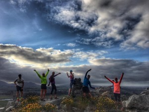 Running in Elgin - SA Adventure summit