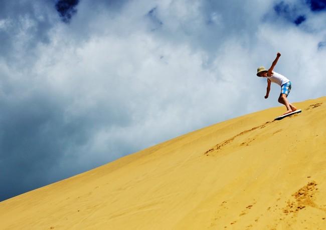 SA Forest Adventures - Sandboarding