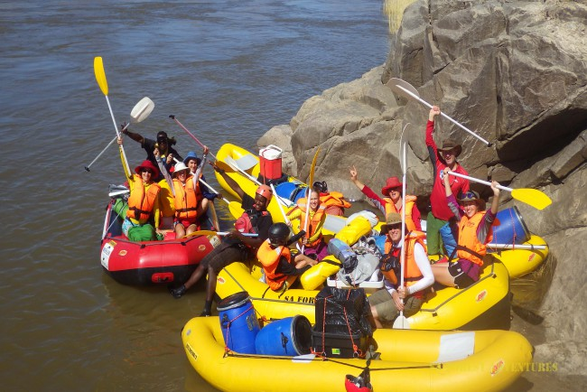 SA Forest Adventures - Orange River Rafting