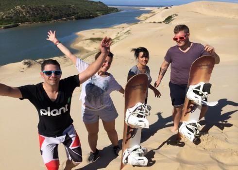 Sandboarding Sunday's River